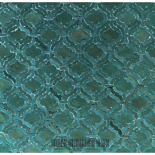 Arabesque Tile 14
