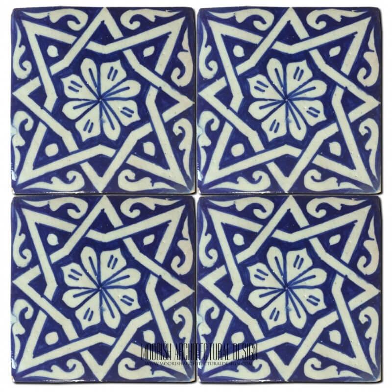 Moorish pool tile design ideas