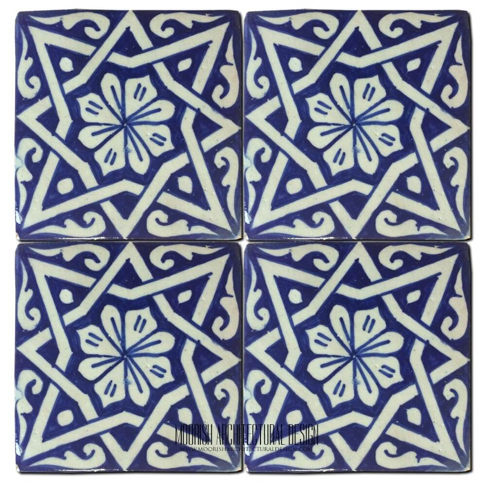 Moorish Pool Tile Design Ideas Moroccan Tile