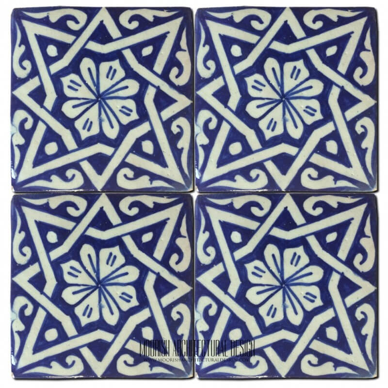 Moorish pool tile design ideas