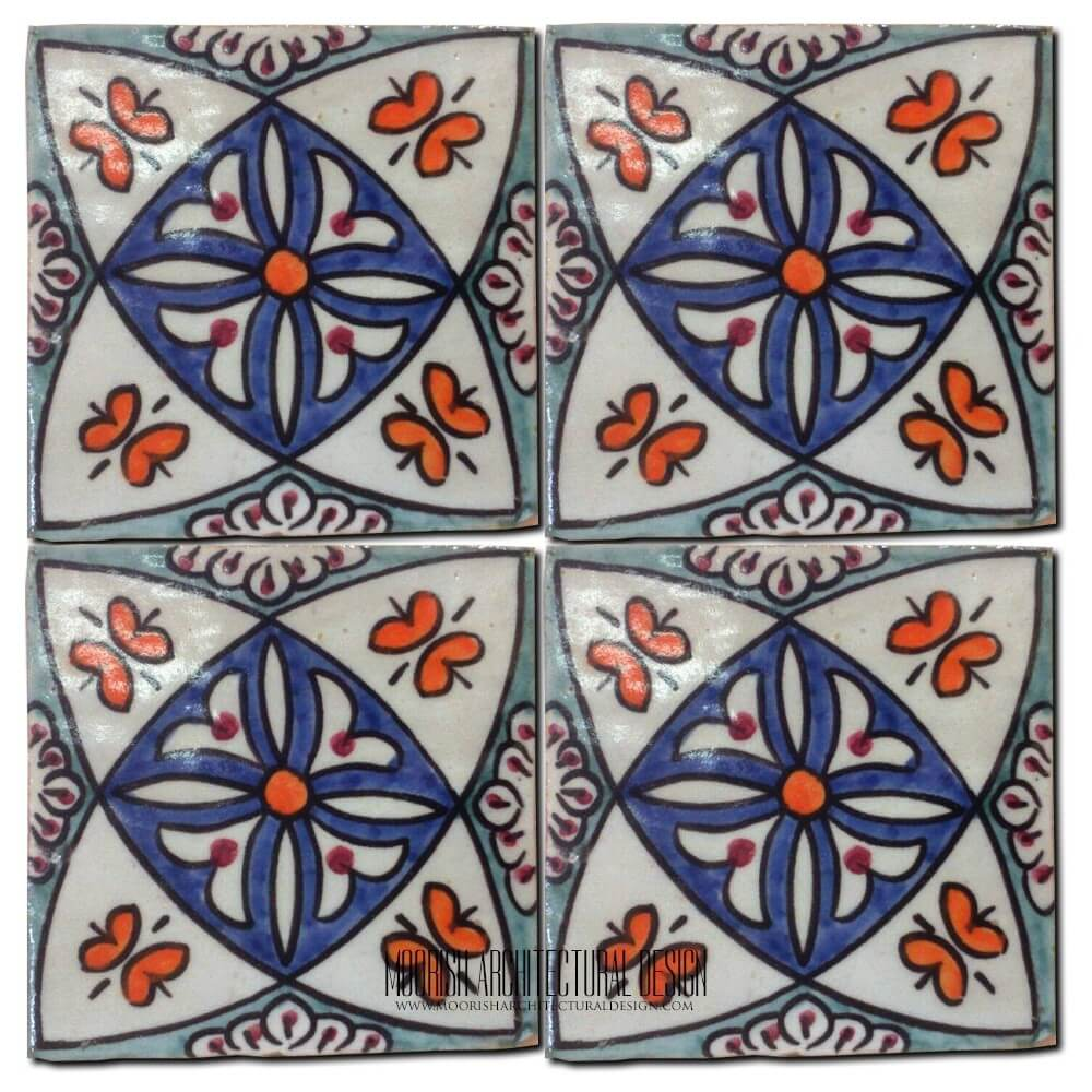 Azulejo Portuguese Decorative Tile Moroccan Tile