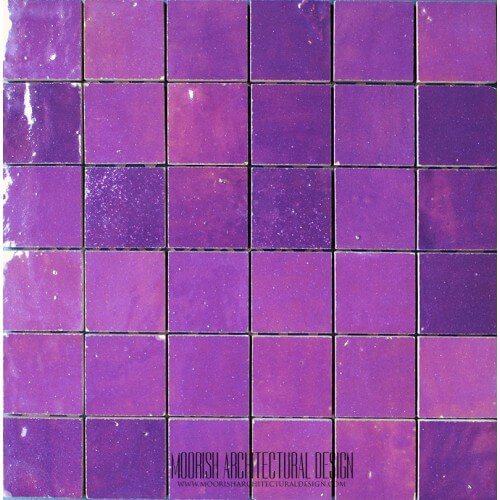 Purple Moroccan Tile