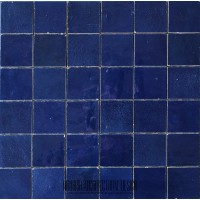 Navy Blue Moroccan Tile
