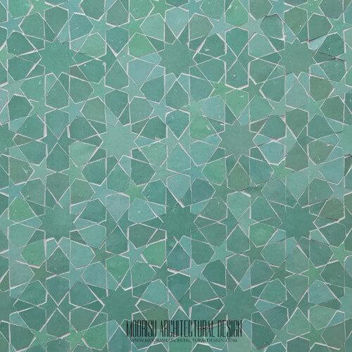 Green Moroccan Tile New York Moorish Tile Los Angeles