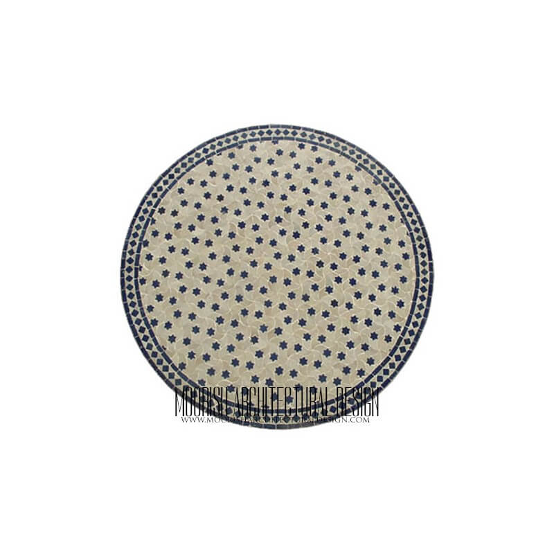 Moroccan Mosaic Table