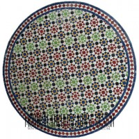 moorish mosaic table