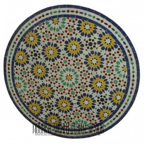 Moroccan Mosaic Table 07