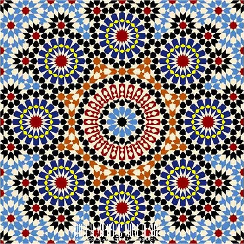 Moresque Tile Fez