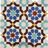 Moroccan Tile Kitchen