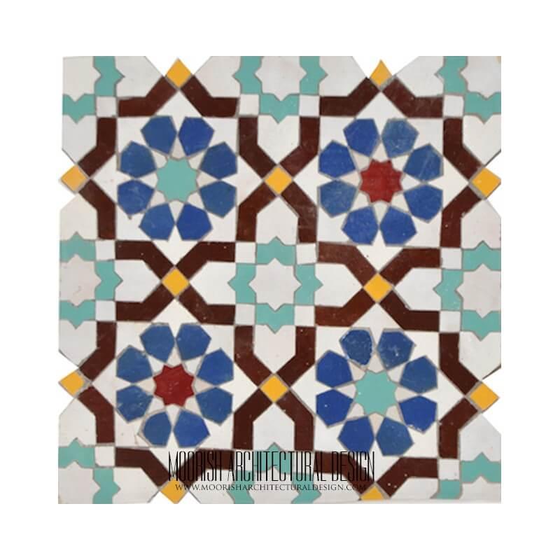 Moroccan Tile Kitchen