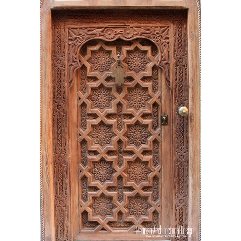 Moroccan Front Door Moorish Entry Door Antique Doors