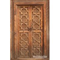 Spanish entry door