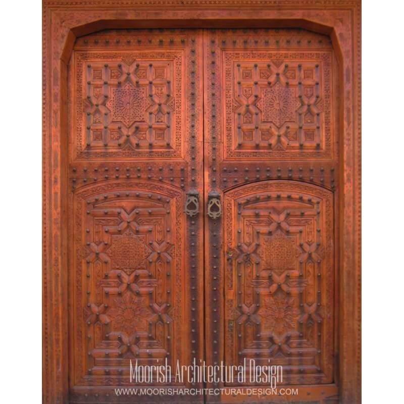 Moroccan French Door