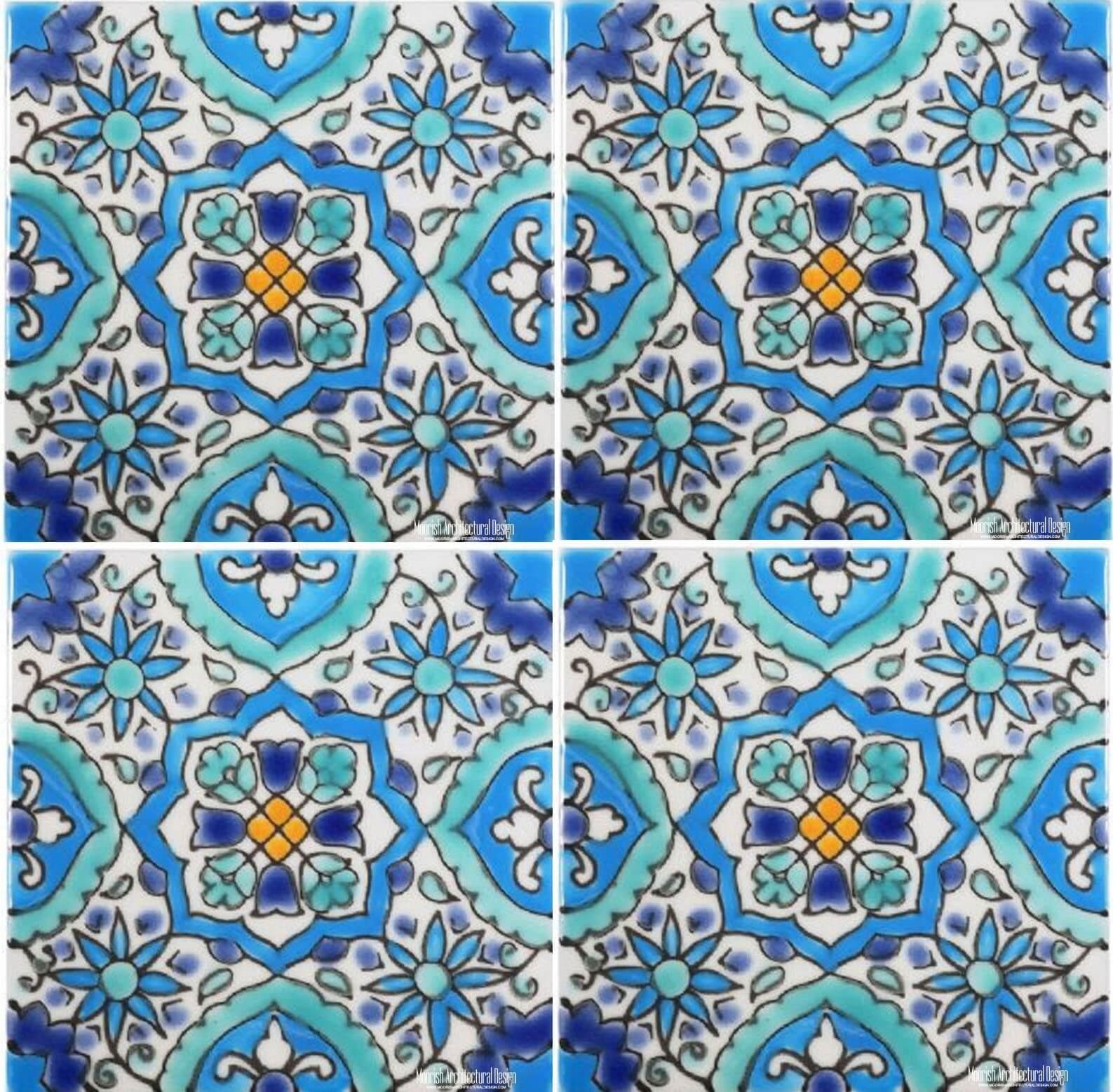 Mediterranean Tiles | Mexican Ceramic Tile | Portuguese Kitchen Tile ...