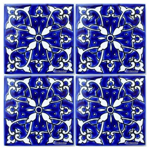 Blue Mediterranean Tile