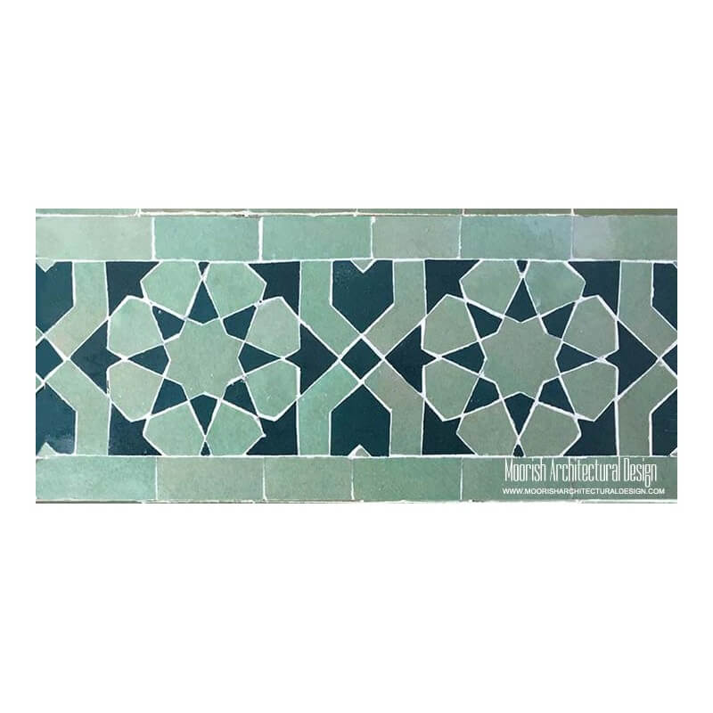 Spanish Mosaic Swimming Pool Tile