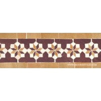 Moroccan ceramic pool tiles