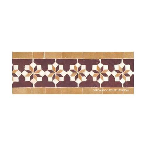 Moroccan ceramic pool tiles