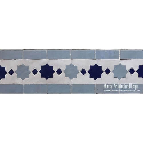 Moroccan Border Tile 91