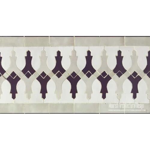Mediterranean Pool Mosaic Tile Designs