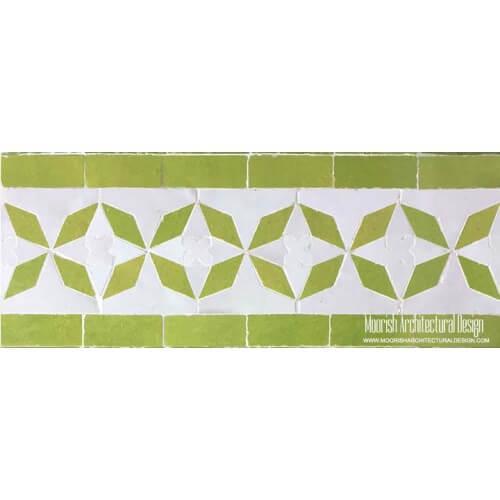 Moroccan Border Tile 95