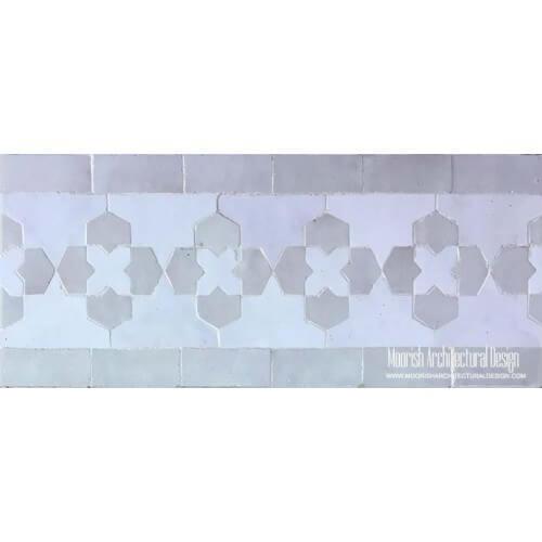 Moroccan Border Tile 96