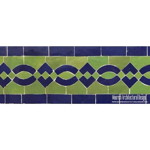 Moroccan Border Tile 111