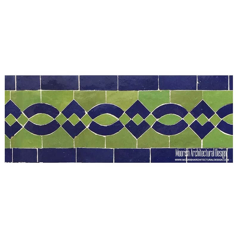 Swimming Pool Waterline border tile