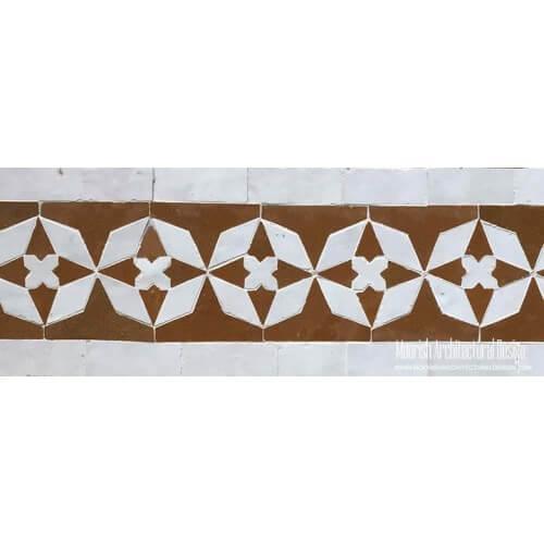 Moroccan Border Tile 114