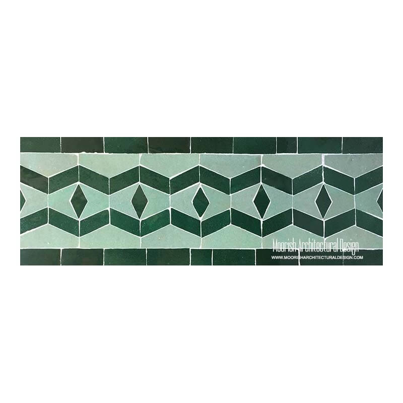 Spanish Colonial Pool Tiles Rustic Spa Tile