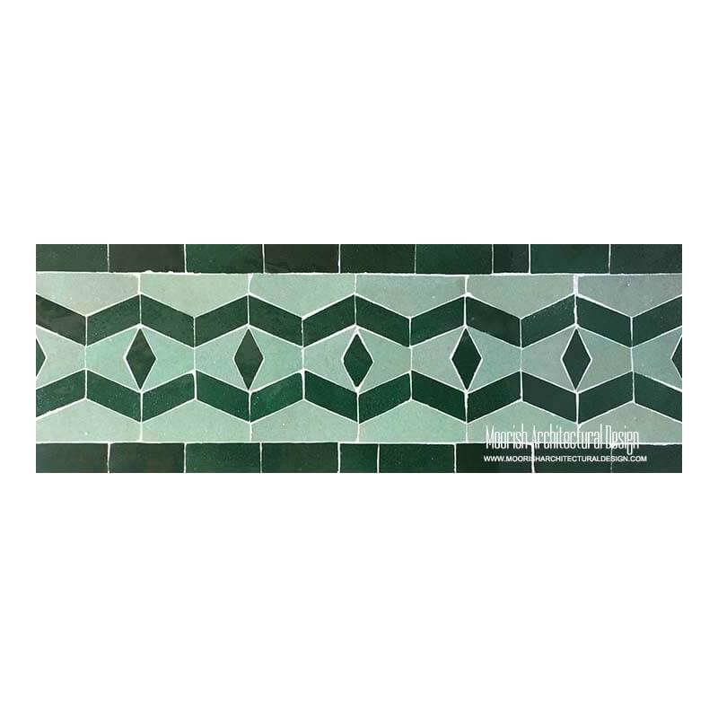 Spanish colonial pool tiles