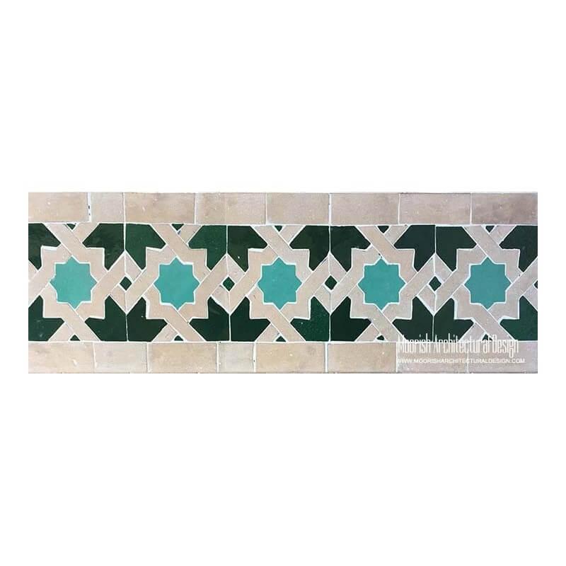 Moroccan Border Tile 19