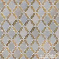 Moroccan kitchen tile backsplash