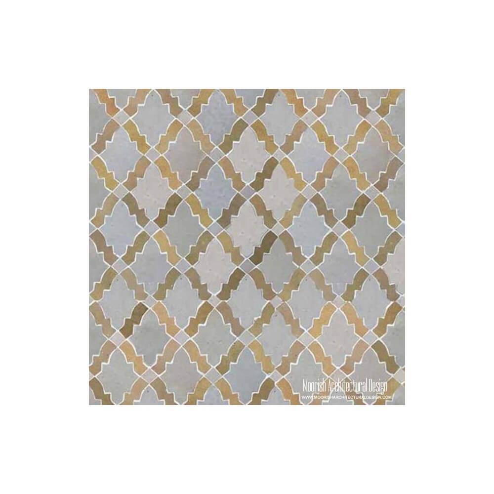 Zellige Tiles Moorish Kitchen Tiles Moroccan Floor