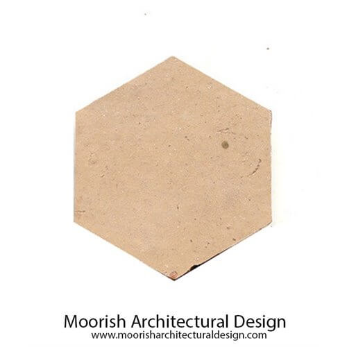 Hexagon Moroccan Terracotta