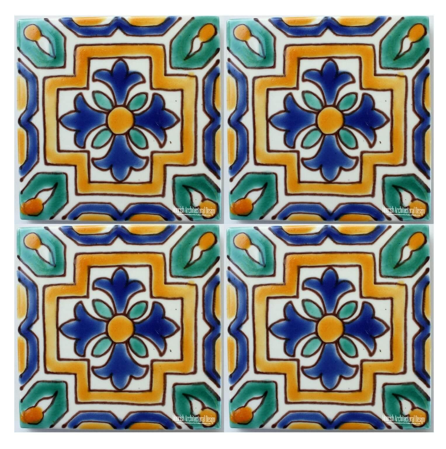 Green Mediterranean Ceramic Tile