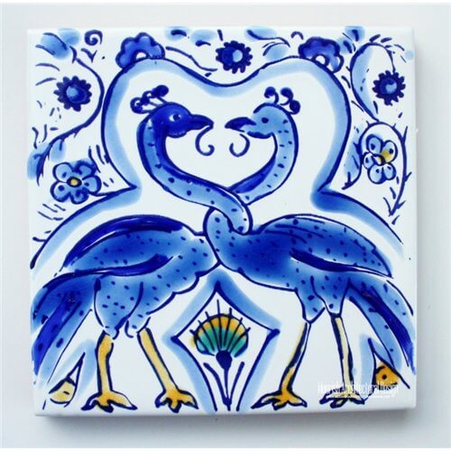 Blue Mediterranean Ceramic Tile