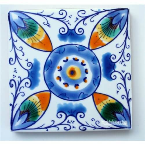 White Mediterranean Tile