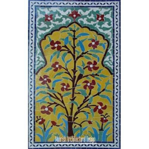Moroccan Tile Mural 15