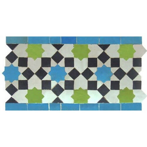 Moroccan Border Tile design