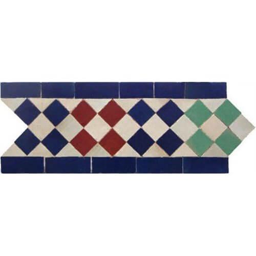 Moroccan Border Tile 38