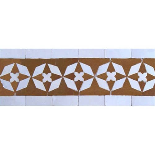 Moroccan Border Tile 45