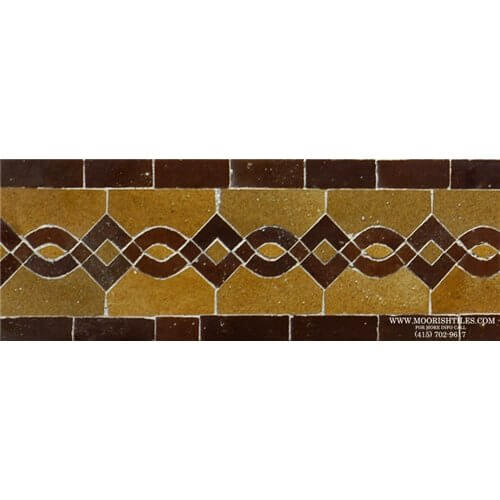 Moroccan Tile Rolling Hills, California