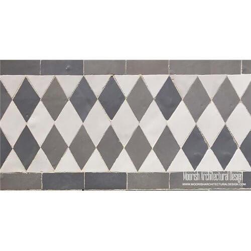 Rustic Mediterranean Mosaic Tile