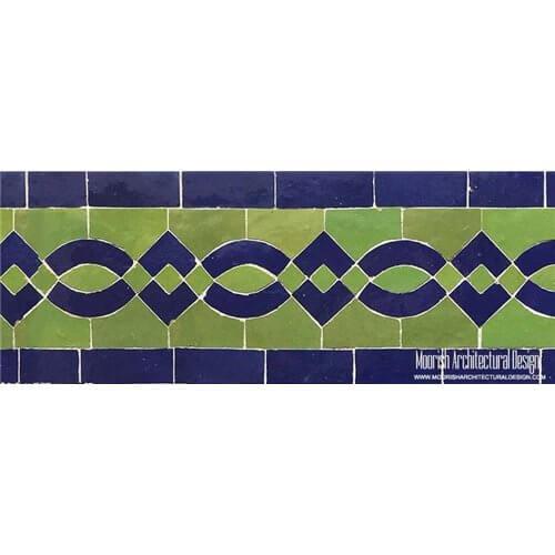 Swimming Pool Waterline border tile