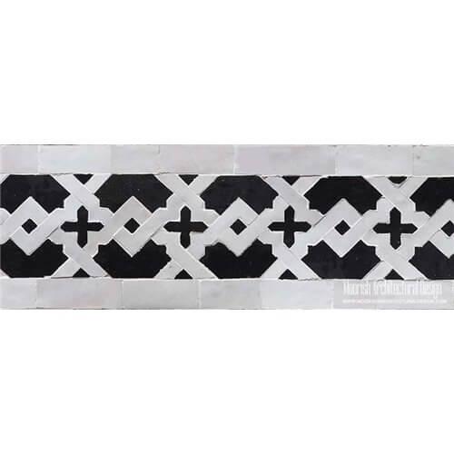 Mediterranean Waterline Tile Design