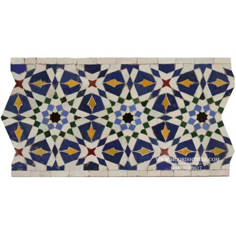 Los Angeles largest supplier of Spanish Mediterranean pool tiles