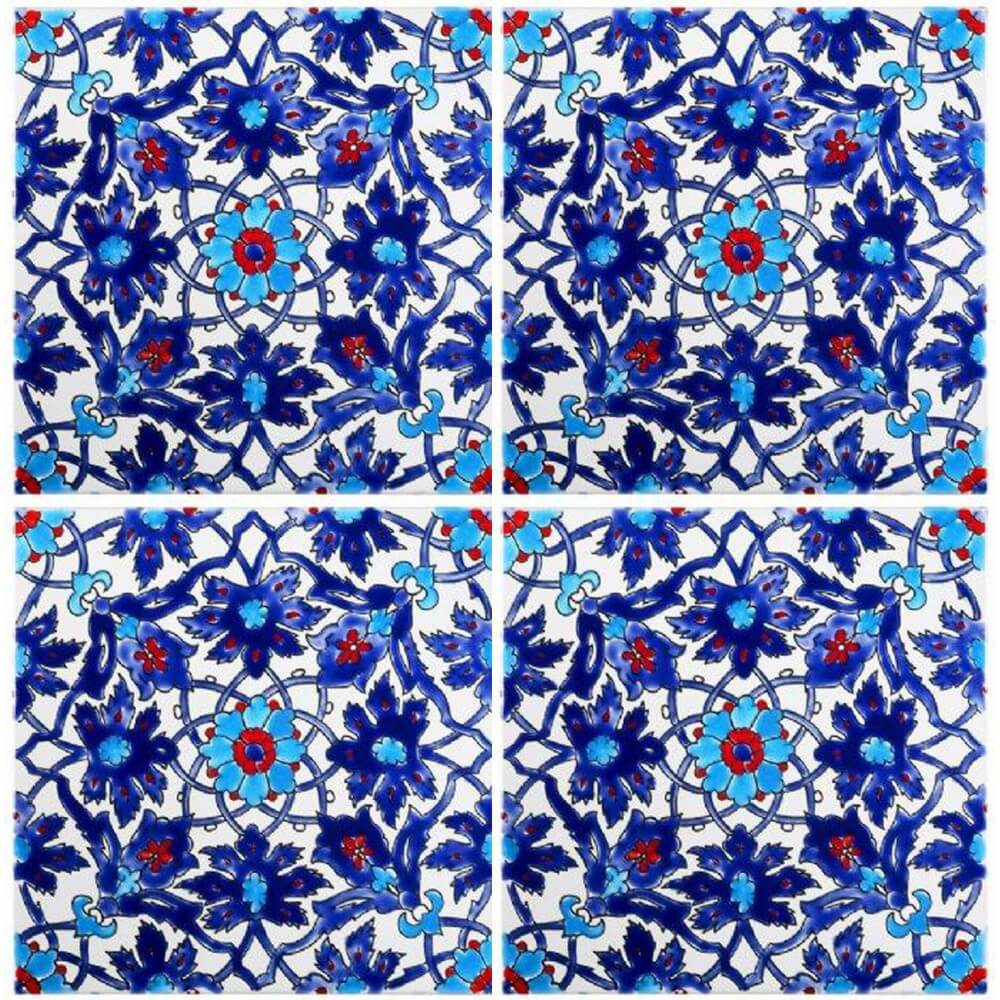 Blue Pool Tiles Iznik Tile Waterline Tile Ideas