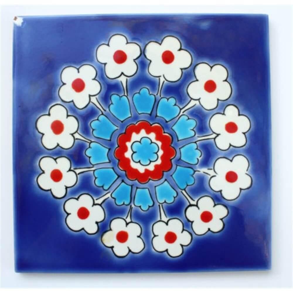 Blue Tunisian Pool Tiles - Waterline Pool Tiles