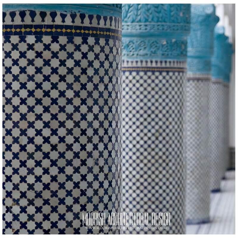 Spanish pillars